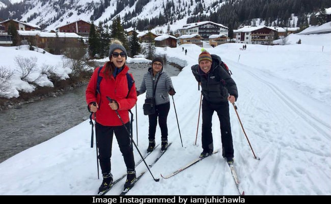 Juhi Chawla Instagrams Postcards From Austria. 'So Cute,' Declares The Internet