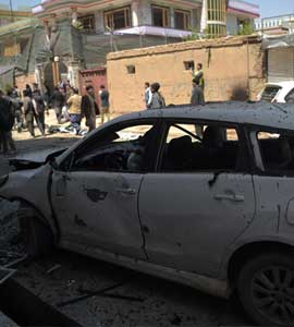57 Killed, 119 Injured In Suicide Attack At Election Centre In Kabul