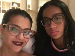 Kajol Dug Out A Cute Little Pic Of Daughter Nysa On Her Birthday. See Inside