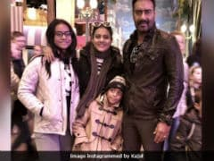 Kajol, Ajay Devgn and Their Children Say 'Au Revoir' To Paris