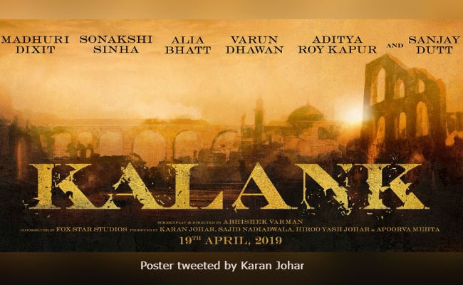 Karan Johar's Kalank Stars Madhuri Dixit, Sanjay Dutt And Many Others. Sridevi, You'll Be Missed