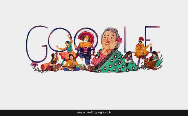 Google Doodle Remembers Feminist Freedom Fighter Kamaladevi Chattopadhyay