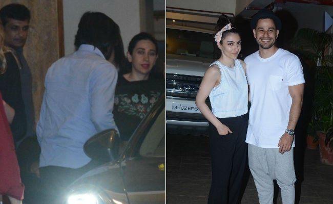 Kareena Kapoor's Tuesday Guests: Karisma, Sandeep Toshniwal, Soha And Kunal
