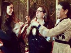 Inside Pic: Kareena And Karisma Kapoor At Babita's Birthday Party