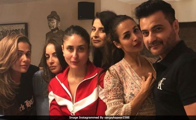 Inside Kareena Kapoor, Malaika Arora And Amrita's Weekend Party