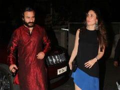 Kareena Kapoor, Saif Ali Khan, Karisma And Kids Celebrate Babita's Birthday. Missing - Taimur