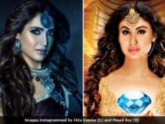 Mouni Roy Defends Karishma Tanna After <i>Naagin 3</i> Backlash. 'She'll Do Exceedingly Well'