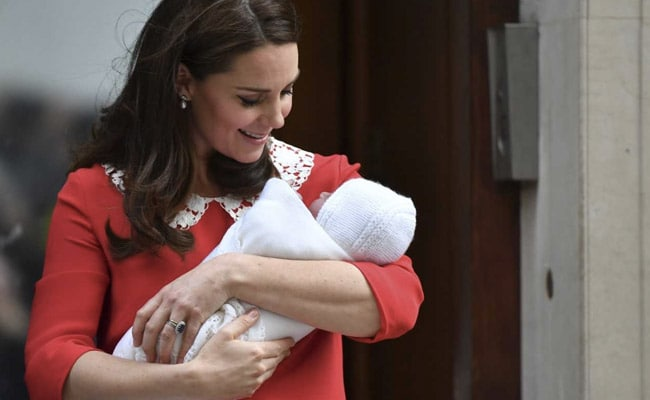 UK's Duchess of Cambridge Kate Middleton delivers baby boy