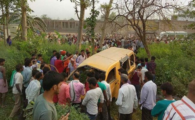 Death Of Three Children In UP School Bus Accident Devastates Family