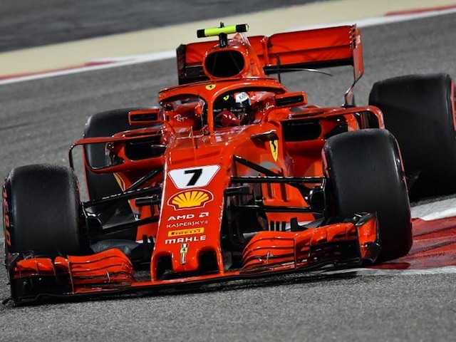 Bahrain Grand Prix 2018: Kimi Raikkonen On Top For Dominant Ferrari