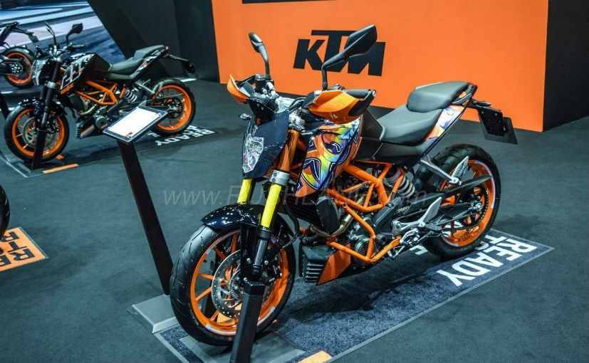 KTM 250 Duke Special Edition Launched At Bangkok Motor Show 2018
