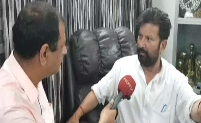 BJP Minister Who Quit Over Kathua Marches Barefoot To Demand CBI Probe