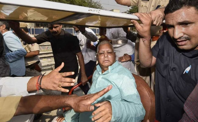Lalu Yadav's Health Deteriorates, Admitted To Patna Hospital