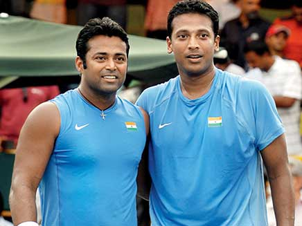 Leander Paes And Mahesh Bhupathi Finally End 17-Year Feud With Davis Cup Win
