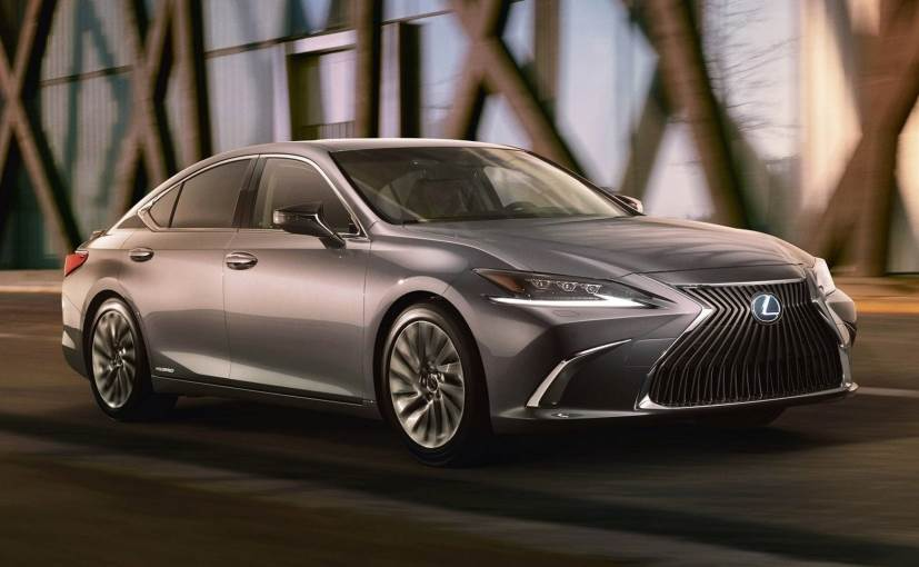 The new Lexus ES will come with major cosmetic changes while running on the same powertrain