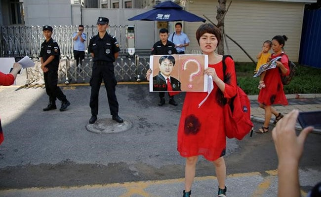 Wife Of Detained Chinese Lawyer Wang Quanzhang Begins 100-Km March To Press For Answers