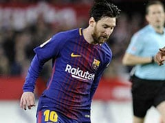 Messi To Return As Barcelona Host Roma In Champions League Last Eight