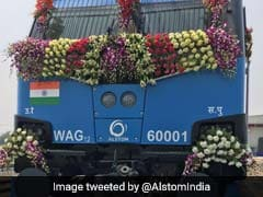 Indian Railways Flags Off 3000 HP Cape Gauge Locomotive For Export To Mozambique