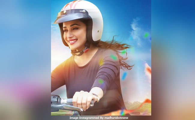 Bucket List First Poster: Madhuri Dixit Rides A Bike. 'So Cool,' Says The Internet