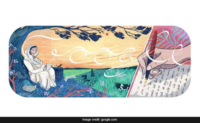 Mahadevi Varma Is Today's Google Doodle: Know All About The Celebrated Hindi Poet