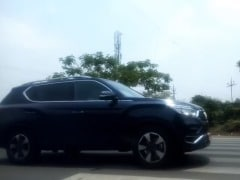 Mahindra Rexton a.k.a. G4 SsangYong Spotted In India