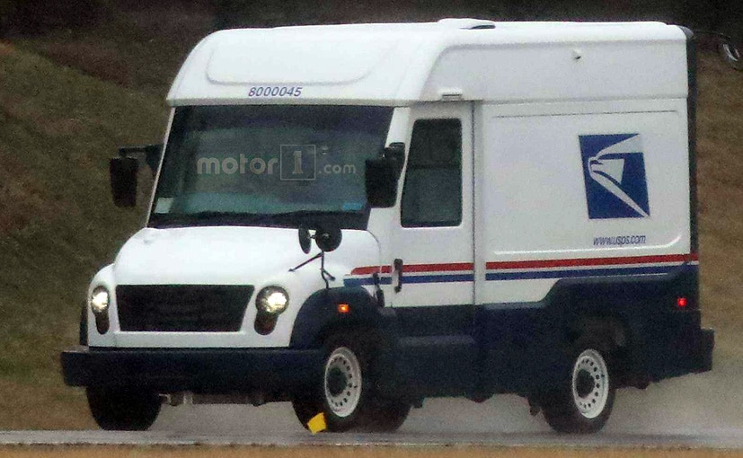 Mahindra Us Postal Service Mail Truck Prototype Spied