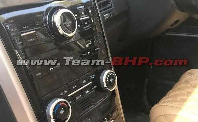 mahindra xuv500 facelift interior