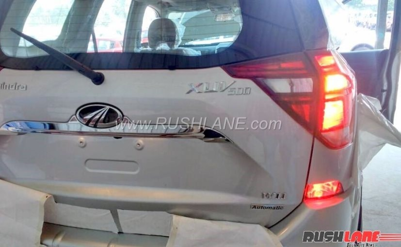 mahindra xuv500 facelift rear