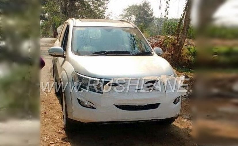 The Mahindra XUV500 facelift gets new exterior and revised interior and more features