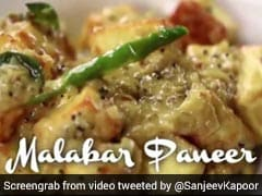 Sanjeev Kapoor Shares Recipe For Malabar Paneer, Gets Roasted On Twitter