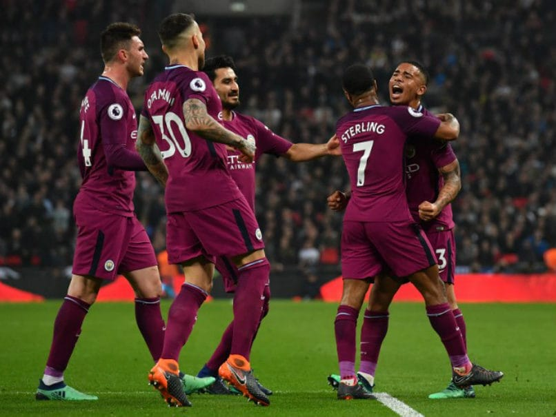 Manchester City On Verge Of Premier League Title After Bouncing Back vs Tottenham Hotspur