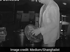 CCTV Captures Restaurant Owner Peeing In Rival's Soup