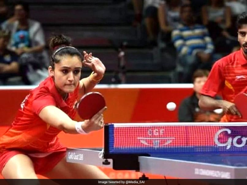 Commonwealth Games 2018: Manika Batra-Sathiyan Gnanasekaran Beat Sharath Kamal-Mouma Das To Bag Table Tennis Mixed Team Bronze