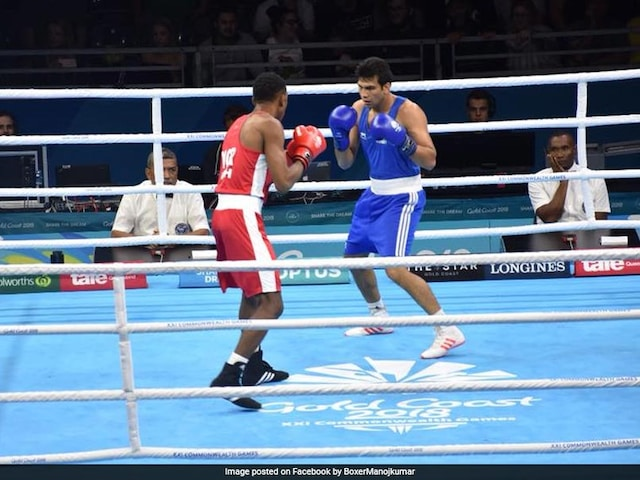 Commonwealth Games 2018: Boxer Manoj Kumar Cruises Into Mens 69kg Quarter-Finals