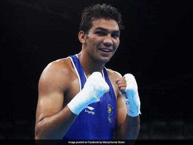 2018 Commonwealth Games: Boxer Manoj Kumar Advances To Round Of 16 In Mens 69kg