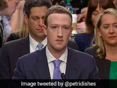 'Robotic' Mark Zuckerberg Appears In Front Of US Congress, Memes Follow
