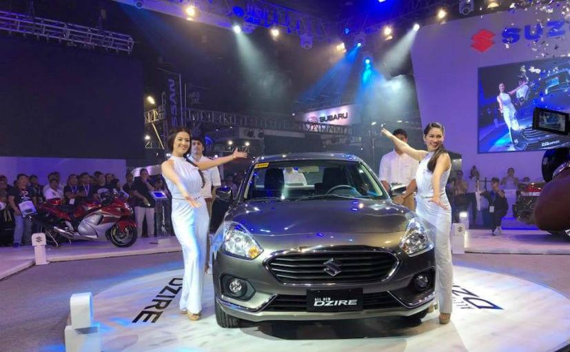 Made-In-India New Gen Maruti Suzuki Dzire Debuts In Philippines