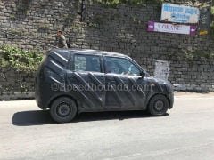 Updated Maruti Suzuki Wagon R Spied Testing In India