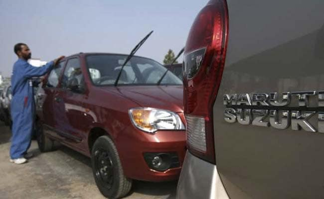 Maruti Suzuki India's profit misses estimate on tax expense, shares drop