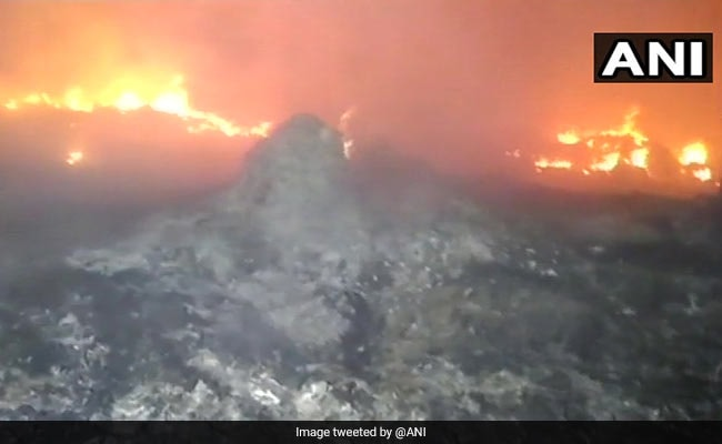meerut huts burnt