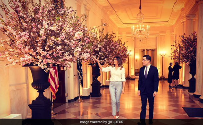 Melania Trump Spent Months Prepping For First State Dinner Today