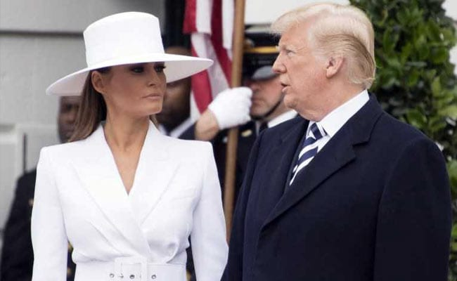 For Melania Trump, Fashion Diplomacy Was Defined By A Hat