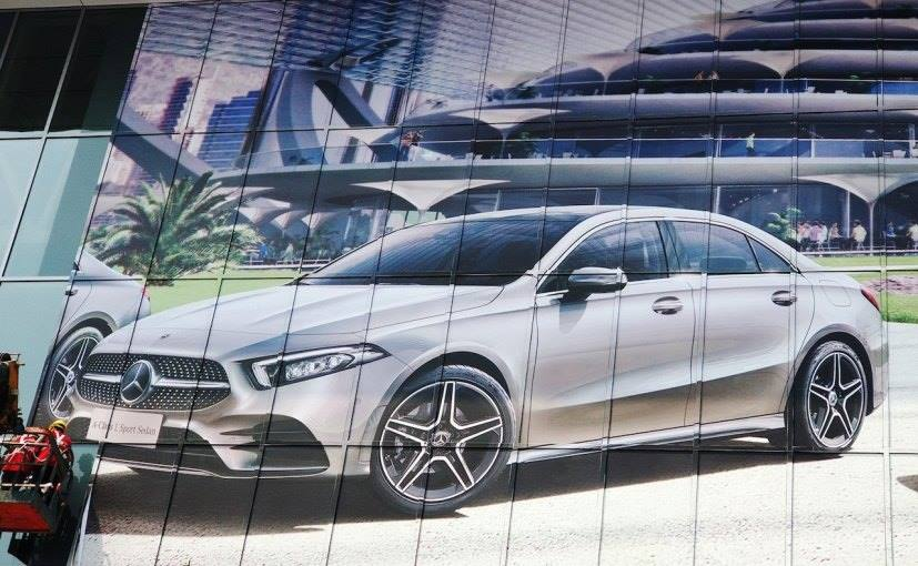 Mercedes-Benz A-Class Sedan Leaked Ahead Of Official Debut