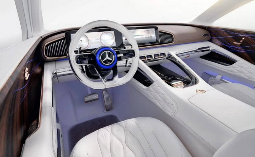 mercedes maybach vision ultimate luxury