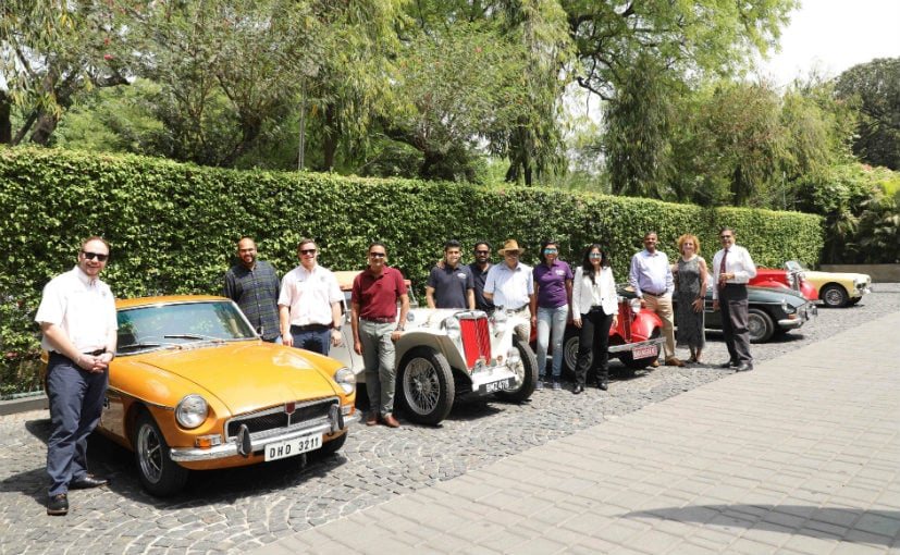 MG Motor India Launches MG Car Club For Classic Car Owners In India - Classic car motors