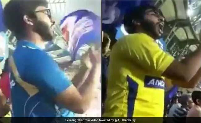 IPL 2018: धोनी के आते ही छोड़ा मुंबई इंडियंस का साथ, आदित्य ठाकरे ने ऐसे ली चुटकी