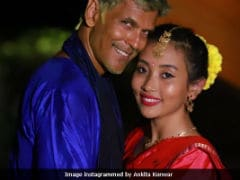 Milind Soman And Ankita Konwar Aren't On Any Old Honeymoon. Here's How They Are Celebrating