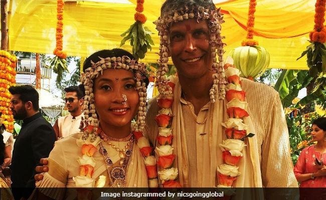 Milind Soman Marries Ankita Konwar. See Wedding Pics