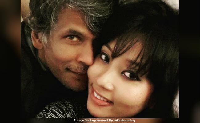 Why Milind Soman And Girlfriend Ankita Are Trending