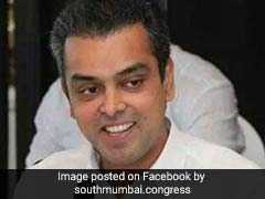 Milind Deora Replaces Sanjay Nirupam As Chief Of Mumbai Congress